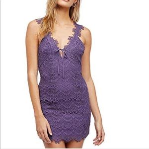 Intimately Free People Lace Night Moves Slip Dress